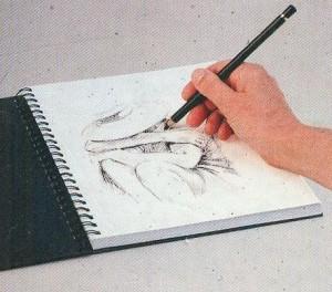 schetsen en leren tekenen in stappen