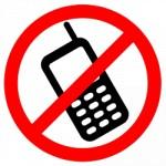 mobiel niet toegelaten in tekenen als internationale taal