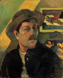 Citaten-van-Paul-Gauguin, zelfportret