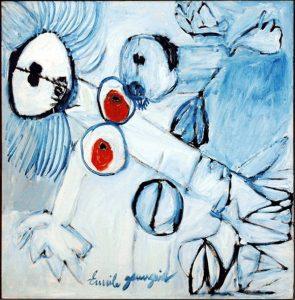 schilderij van Emile Gauguin