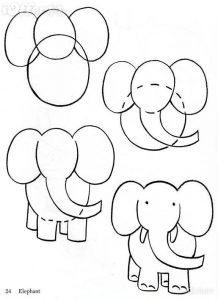 olifant tekenenzo