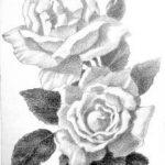 Bloemen tekenen, moeilijk?