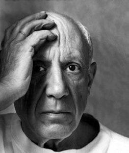 de innerlijke kant van Picasso